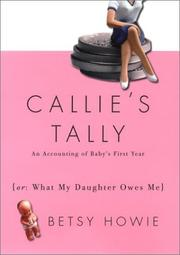 CALLIE'S TALLY by Betsy Howie