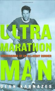 Cover art for ULTRAMARATHON MAN