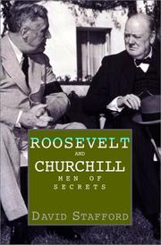 ROOSEVELT AND CHURCHILL by David Stafford