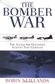 Cover art for THE BOMBER WAR