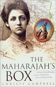 THE MAHARAJAH'S BOX by Christy Campbell