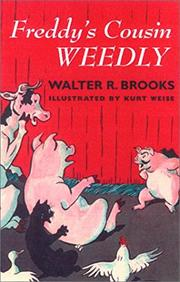 FREDDY'S COUSIN WEEDLY by Walter R. Brooks