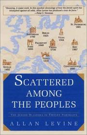 SCATTERED AMONG THE PEOPLES by Allan Levine