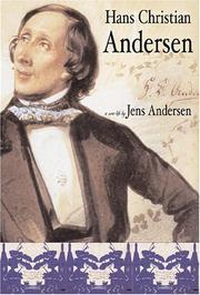 HANS CHRISTIAN ANDERSEN by Jens Andersen