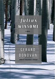 JULIUS WINSOME by Gerard Donovan
