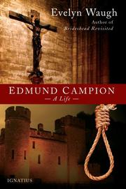 EDMUND CAMPION by Evelyn Waugh