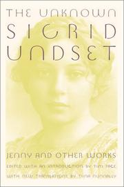 Book Cover for THE UNKNOWN SIGRID UNDSET