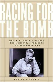 RACING FOR THE BOMB by Robert S. Norris