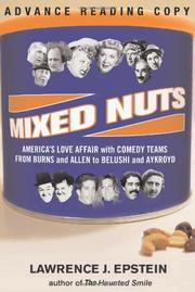 MIXED NUTS by Lawrence J. Epstein