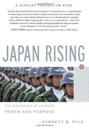 JAPAN RISING by Kenneth B. Pyle