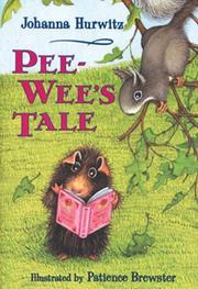PEE-WEE'S TALE by Johanna Hurwitz