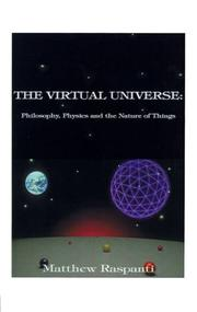 THE VIRTUAL UNIVERSE by Matthew Raspanti