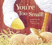 Cover art for YOU'RE TOO SMALL!