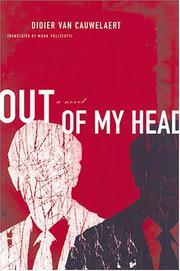 OUT OF MY HEAD by Didier van Cauwelaert