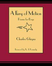 Cover art for A FURY OF MOTION