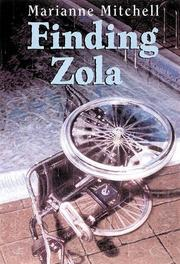 FINDING ZOLA by Marianne Mitchell