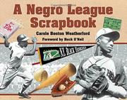Cover art for A NEGRO LEAGUE SCRAPBOOK