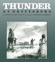 THUNDER AT GETTYSBURG by Patricia Lee Gauch