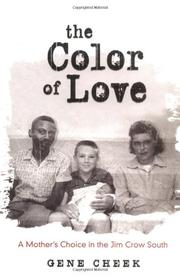 THE COLOR OF LOVE by Gene Cheek