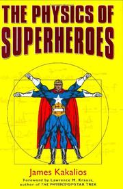 Cover art for THE PHYSICS OF SUPERHEROES