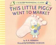 Cover art for THIS LITTLE PIGGY WENT TO MARKET