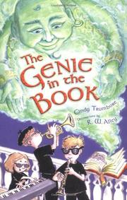 THE GENIE IN THE BOOK by Cindy Trumbore