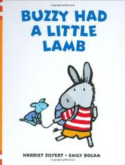 BUZZY HAD A LITTLE LAMB by Harriet Ziefert