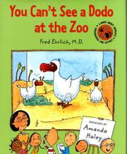 Cover art for YOU CAN'T SEE A DODO AT THE ZOO