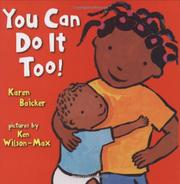 Book Cover for YOU CAN DO IT TOO!