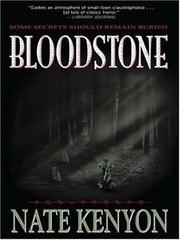 BLOODSTONE by Nate Kenyon