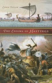 THE ENIGMA OF HASTINGS by Edwin Tetlow
