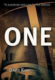 ONE by David Karp