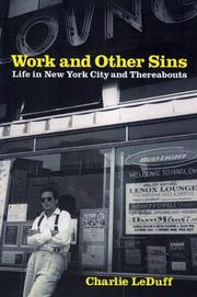 Cover art for WORK AND OTHER SINS