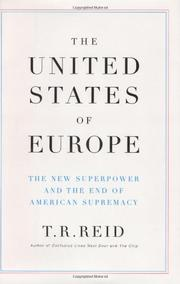 Cover art for THE UNITED STATES OF EUROPE