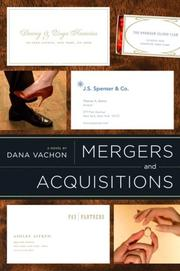 MERGERS AND ACQUISITIONS by Dana Vachon