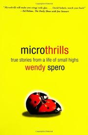 Cover art for MICROTHRILLS