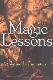 Cover art for MAGIC LESSONS