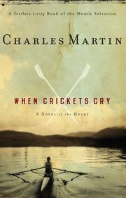 Cover art for WHEN CRICKETS CRY