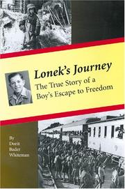 LONEK'S JOURNEY by Dorit Bader Whiteman