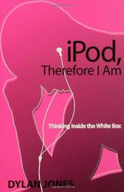 Cover art for IPOD, THEREFORE I AM