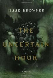 Cover art for THE UNCERTAIN HOUR