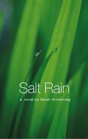 SALT RAIN by Sarah Armstrong