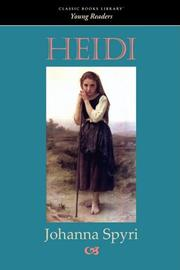 HEIDI by Joanna Spyri