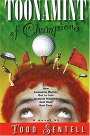 TOONAMINT OF CHAMPIONS by Todd Sentell