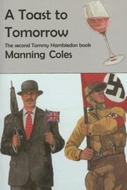 A TOAST TO TOMORROW by Manning Coles