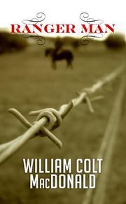 RANGER MAN by William Colt MacDonald