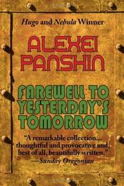 FAREWELL TO YESTERDAY'S TOMORROW by Alexei Panshin