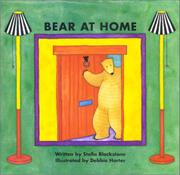 BEAR AT HOME by Stella Blackstone