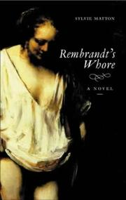 Cover art for REMBRANDT'S WHORE