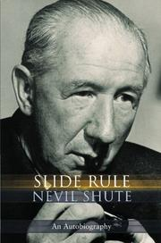 SLIDE RULE by Nevil Shute